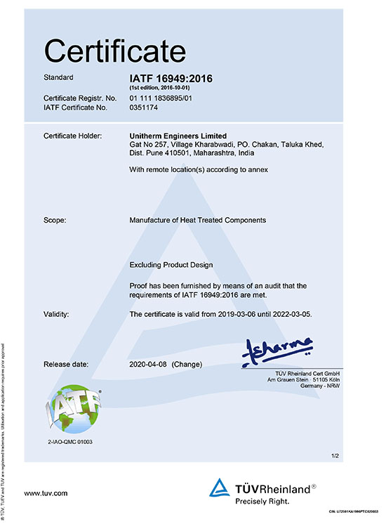 Pune Plant Certification